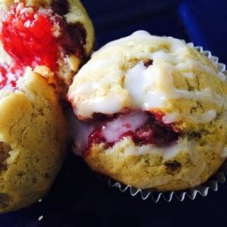 Strawberry/Rosemary Muffins