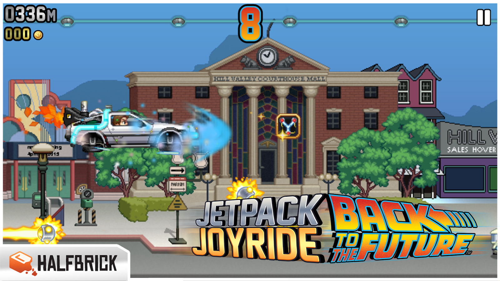 Jetpack Joyride- screenshot