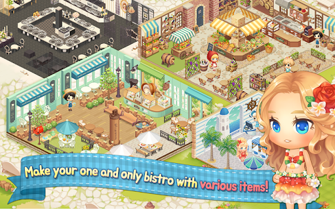My Secret Bistro MOD Apk 1.6.4 (Unlimited Money) 5