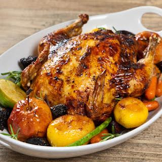 Spicy Garlic Roasted Chicken