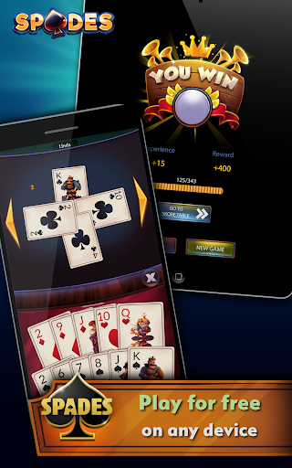 Spades - Offline Free Card Games modavailable screenshots 9