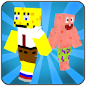Skins cartoons for Minecraft icon