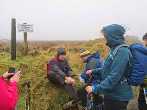 Photo: On the Beara-Breifne Way on the weekend of February 14th and 15th, 2015.  10 of 15