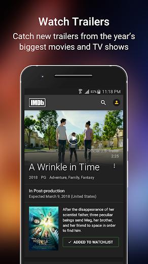 Screenshot 2 for IMDb's Android app'