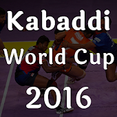 Kabaddi World Cup 2016 New
