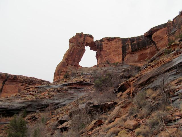 Hunter Canyon arch