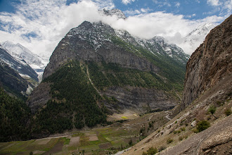 Photo: Mountain Monday  Finally a new mountain for #mountainmonday (curated by +Michael Russell). These peaks, in the Indian Himalayas, are approx 5500-6000 meters in height and they rise at least 2500 meters from the valley floor.