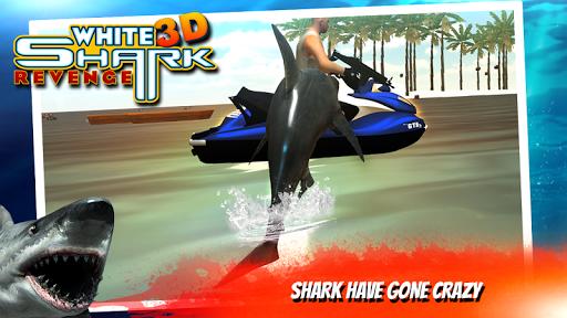 화이트 상어 복수의 3D|玩模擬App免費|玩APPs