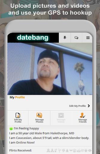DateBang Free Hookup Dating 1.0 screenshots 6