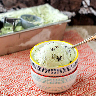 Andes Mint Chip Ice Cream (No-Churn)