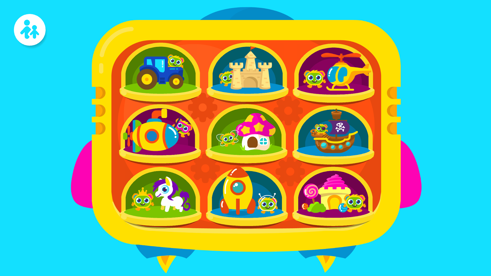Bogga Puzzle - toddler games- screenshot