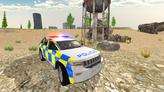 Police Car Driving - Police Chase