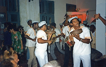 Photo: Foco de Los Hoyos - juillet 1991 (Stage Ritmacuba)