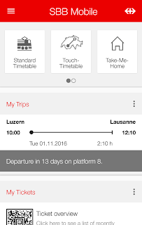 SBB Mobile screenshot 00