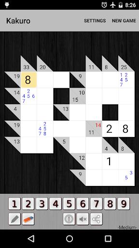 Kakuro Cross Sums screenshot 11
