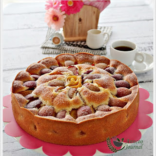 Mixed Fruit Pastry Cake