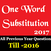 One Word substitution cgl-2017