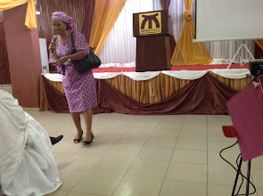 Photo: Local Organizing Committee (LOC) Chair, Dr Nwajiaku makes an opening remark