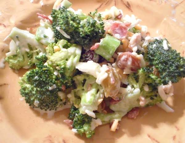 Broccoli Salad With Raisins Recipe