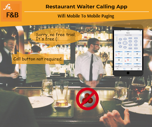 Restaurant Menu, Pager & Buzzer - F&B by WhyIT (Google Play, United