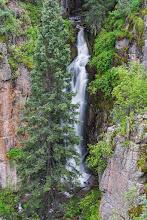 Photo: Lichen Falls; PEEC Waterfall Hike