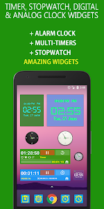 Alarm Clock & Timer & Stopwatch & Tasks & Contacts v5.7 b136 [Paid]