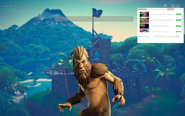 Bigfoot Fortnite Skin HD Wallpapers