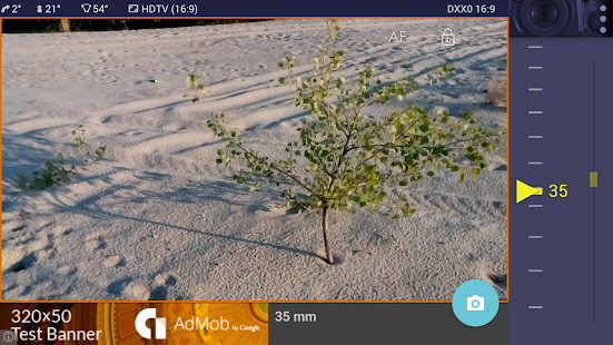 Magic Nikon ViewFinder Gratis Screenshot
