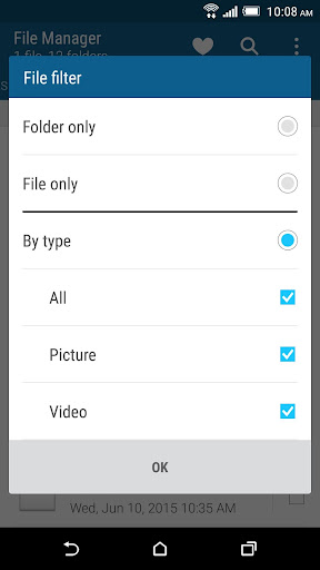 HTC File Manager screenshot 3