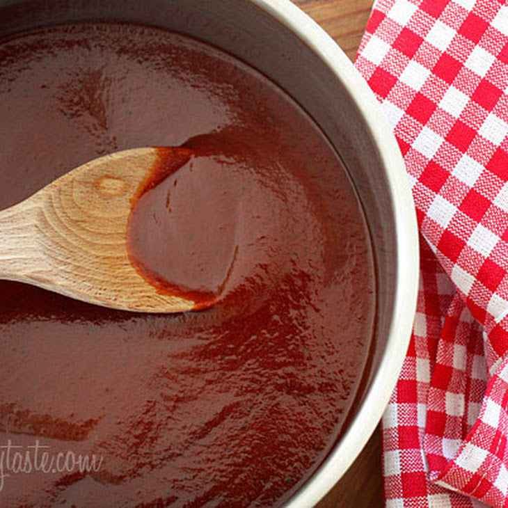 Homemade Kansas City Style BBQ Sauce Recipe