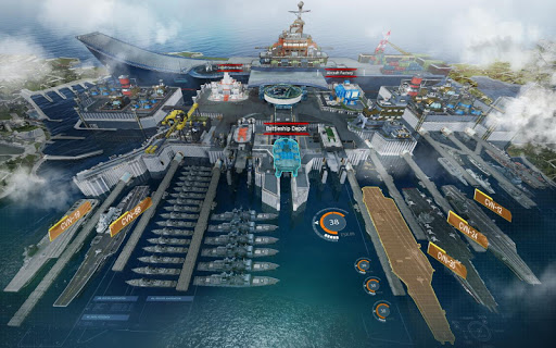 Download Battle Warship: Naval Empire MOD APK 3
