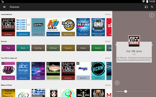 radio.net - Tune in to more than 30,000 stations  screenshots 7