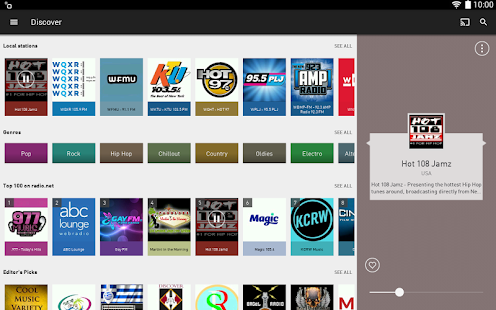 App radio.net - Tune in to more than 30,000 stations APK for Windows Phone