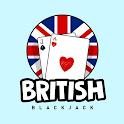 British Blackjack - Online multiplayer card game icon