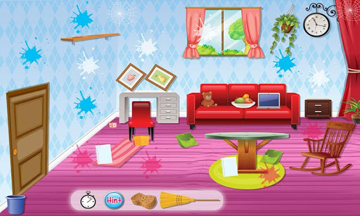 Princess Room Cleanup Game