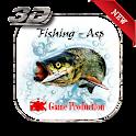Fishing - Asp 3D icon