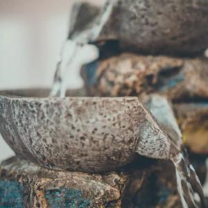 La douceur d'une fontaine