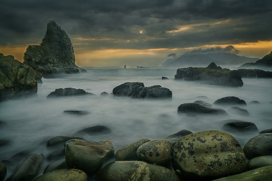 Payangan Beach by Slamet Mardiyono - Landscapes Beaches