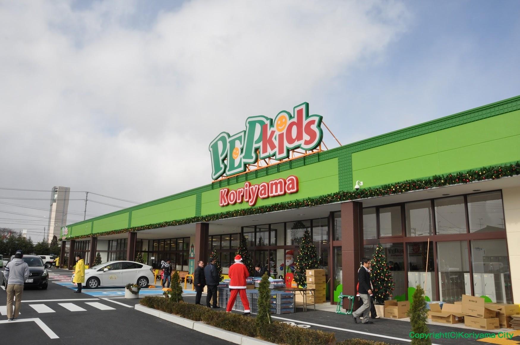 PEP Kids Koriyama ( ペップキッズ 郡山 ) / 室内子供の遊び場 郡山市
