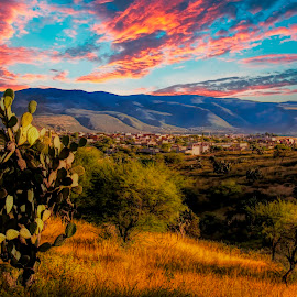 central mexico, before rainy season by Jim Knoch - Landscapes Sunsets & Sunrises