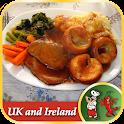 British & Irish Food Recipes icon