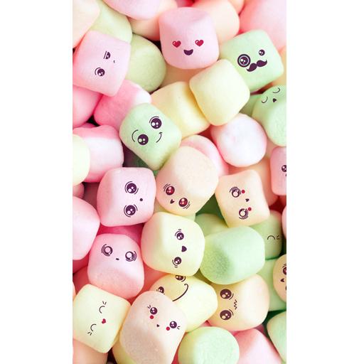 Cute Marshmallow Wallpaper Hd Screenshot