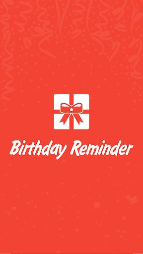 Birthday Reminder E-Cards