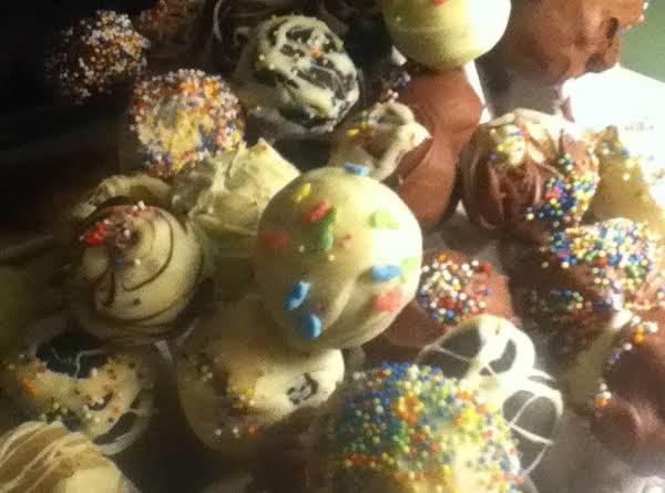 Cake Pops, Easy As 1-2-3 :)