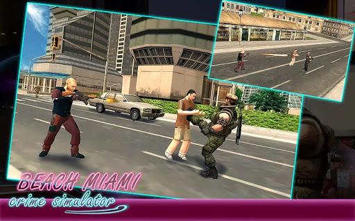 Beach Miami Crime Simulator