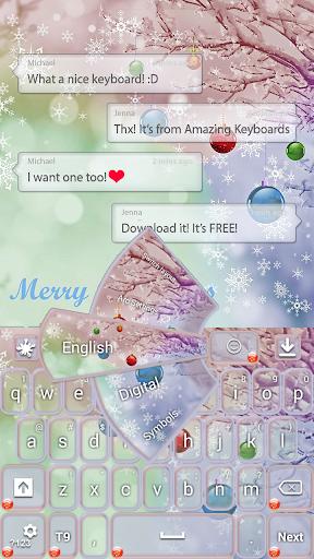 クリスマス雪のテーマ