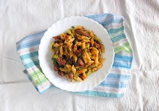Photo: NEW Pressure Cooker Pasta Recipe: http://www.hippressurecooking.com/one-pot-pressure-cooker-pasta-broccoli-sausage/