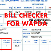Bill Checker For Wapda - Bijli