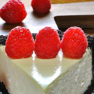Martha's Easy Light Cheesecake.