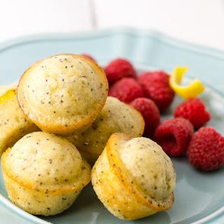 Citrus-Glazed Poppy Seed Muffins.